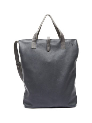 Shopper Sylvi mit langem Riemen in Dark Denim