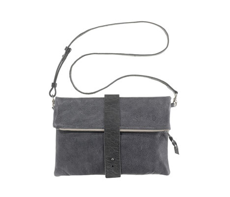 Clutch Georgina in Denim