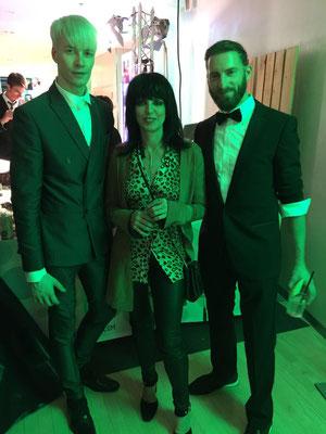 Vico Mulsow und NENA beim GreenTec Award 2016