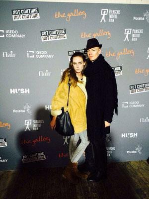 Berliner Fashion Week - Vico mit französischem Model