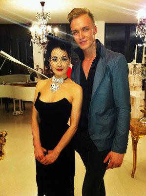Vico Mulsow mit Dita van Theese