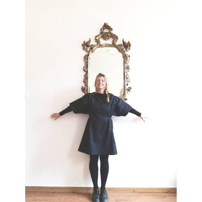 Kleid HYGGE, Jeansstoff