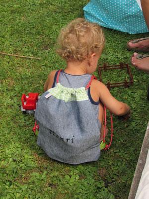 Beispielfoto / zum Tragen und Aufbewahren fürs Spielzeug, die Jause,... ab ca. 2 Jahren