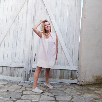 Kleid ROSEBUD, Leinen, multifunktional