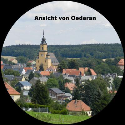 Oederan mit Stadtkirche