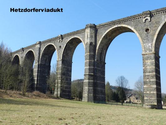 Viadukt in Hetzdorf