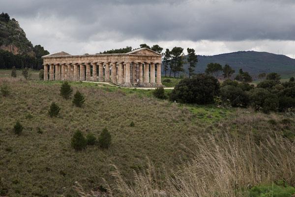 Der Tempel bei Segesta