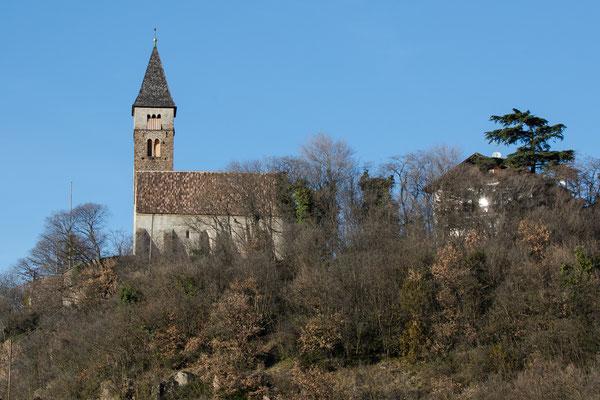 Auf dem Berg ein Kapelle im Süden von Bozen