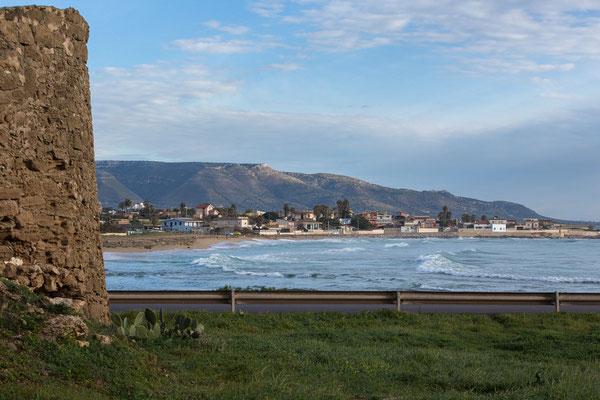 Die Flußmündung vom Asinaro