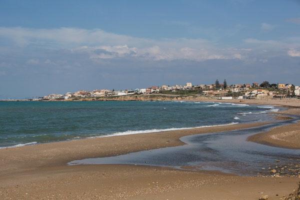 Der Strand von Scoglitti