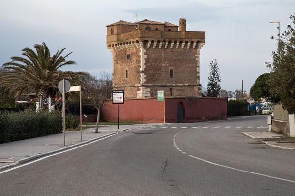 Der Turm in Montaldo Marina