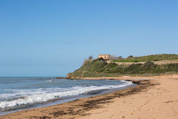 Der Strand von Selinunte