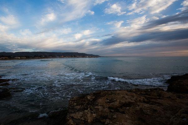 Blick zur Küste von Avola