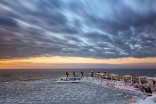 Frozen Ijsselmeer