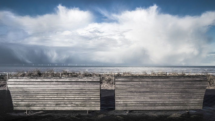 Benches with a view, Egmond aan zee