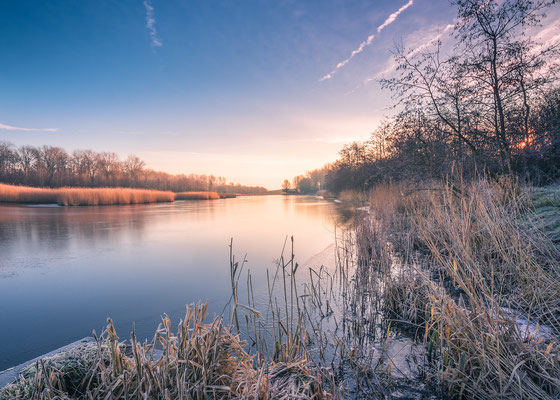 Frosty morning, Geestmerambacht