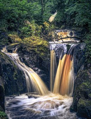 Ingleton waterfalls, Yorkshire, England