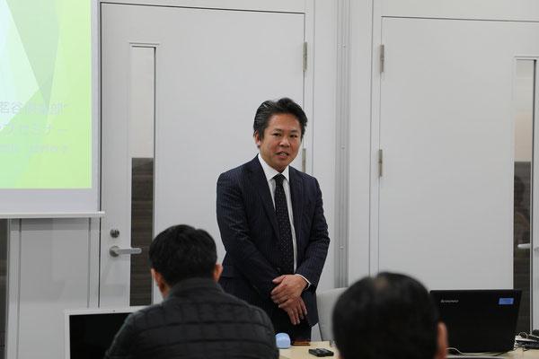 神奈川県中小企業団体中央会 鎮野 政孝様