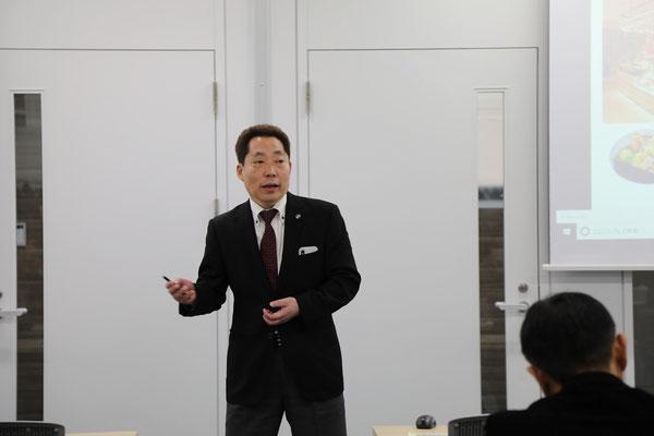 はなまるフードサービス 代表取締役 川名 勝経様