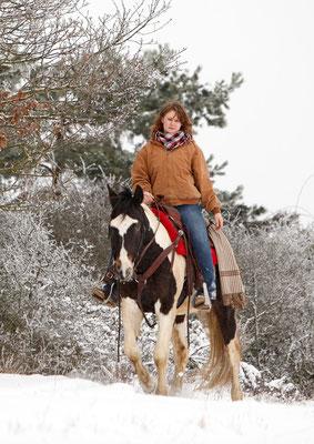 RossFoto - Dana Krimmling - WinterWunderLand - Reiten im Winter