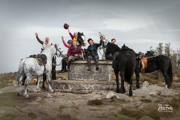 RossFoto Dana Krimmling, Alice en selle, Wanderreiten in den Hochvogesen, Alsace, Elsass, Balade en cheval, Randonnée en cheval, Herbst in den Vogesen