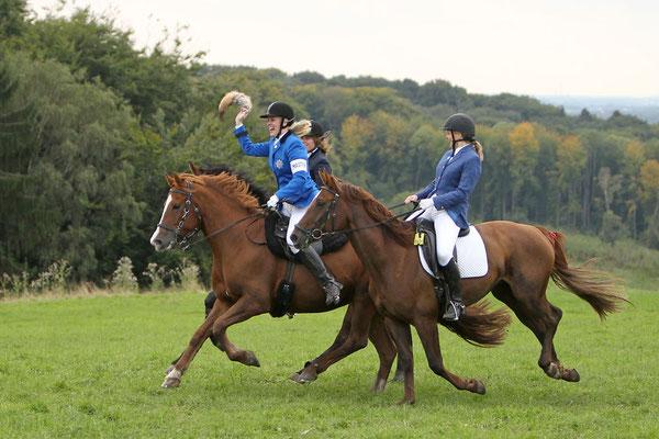 RossFoto - Dana Krimmling - Bunt wie der Herbst - Reiten im Herbst - Jagdreiten
