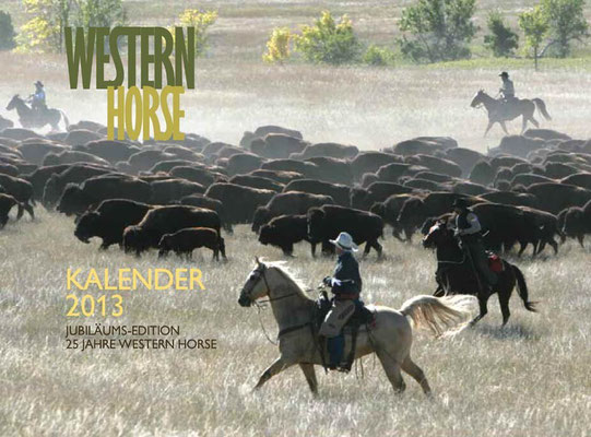Kalender Western horse 2013, RossFoto Dana Krimmling