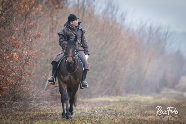 Chasse a courre Abbaye du val des Choues, RossFoto Dana Krimmling