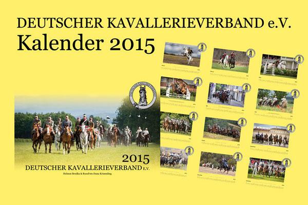 Kalender Deutscher Kavallerieverband 2015, RossFoto Dana Krimmling