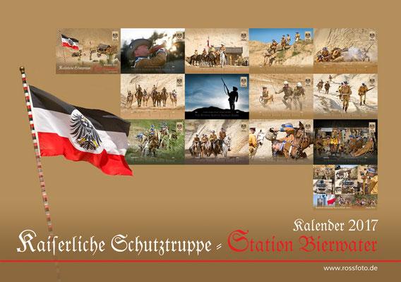 Kalender Kaiserliche Schutztruppe 2017, RossFoto Dana Krimmling