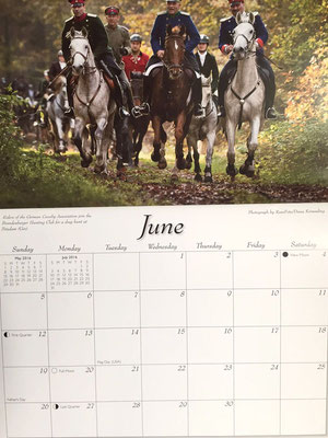 Kalender Foxhunting Life 2016, RossFoto Dana Krimmling
