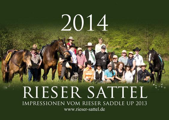 Kalender Rieser Sattel 2014, RossFoto Dana Krimmling