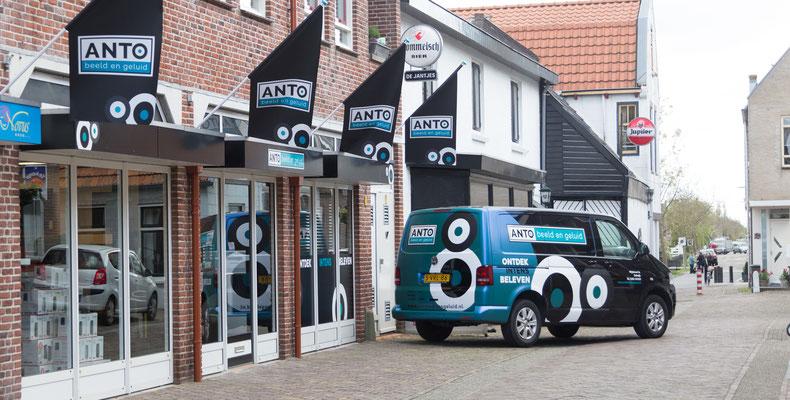 Anto beeld en geluid bedrijfs wagens Sonos Stolwijk