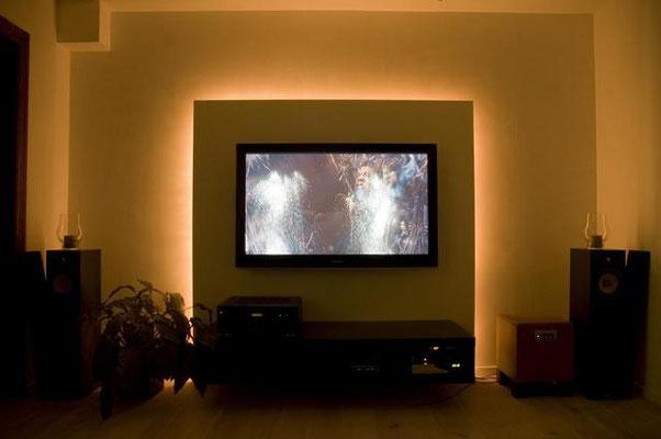 televisie ophangen