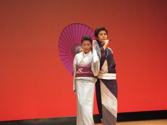 山田智津子&太田廣美 この舞踊は最高でした。