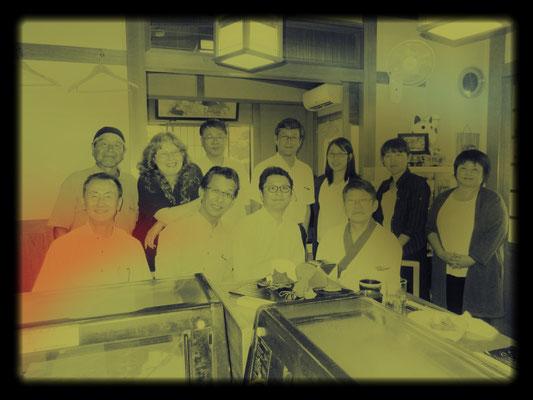 近くの寿司屋は定休日だが、昼飯だけ開店してくれた。