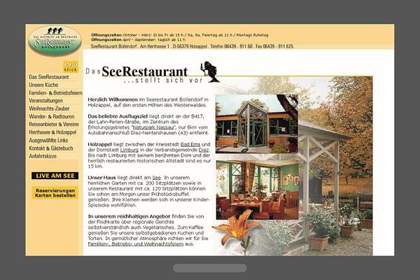 Seerestaurant Bollendorf, Holzappel am Herthasee