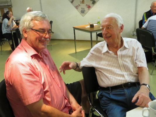 Hugo Mandl † und Helmut Klose