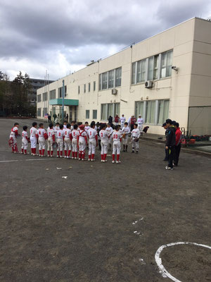 Aチーム:試合開始