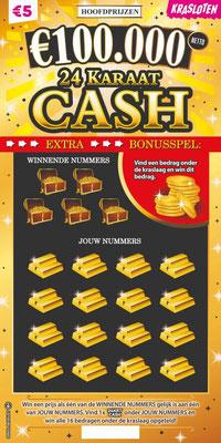 24 karaat cash - €5