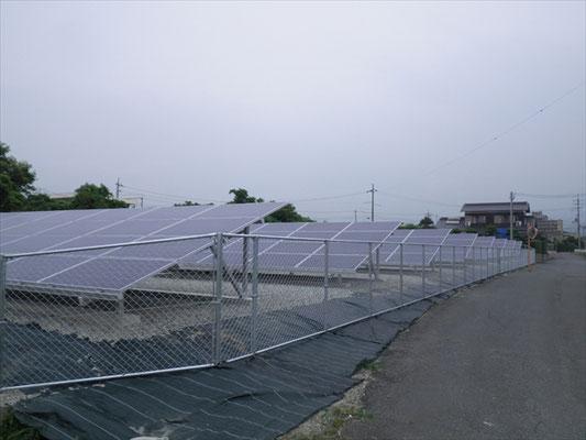 F様太陽光発電所工事-8