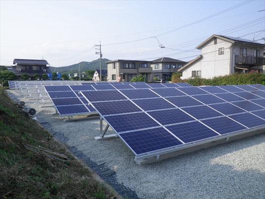 F様太陽光発電所工事-7