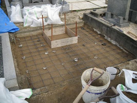 K様 墓石工事-3
