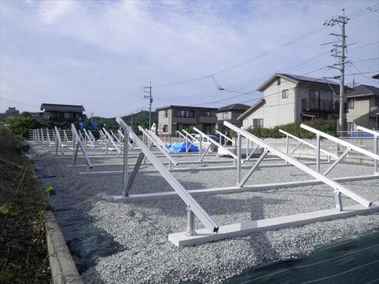 F様太陽光発電所工事-5