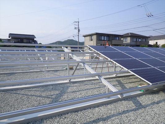 F様太陽光発電所工事-6