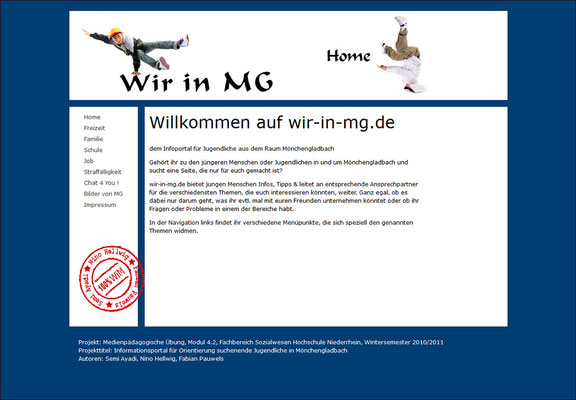 Wintersemester 2010 / 2011