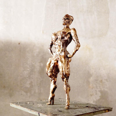 arte figura | Prudentia (Bronzefigur) | Bronze, 24 cm hoch