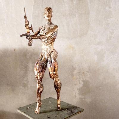 arte figura | Arma Ata (Bronzefigur) | Bronze, 55 cm hoch