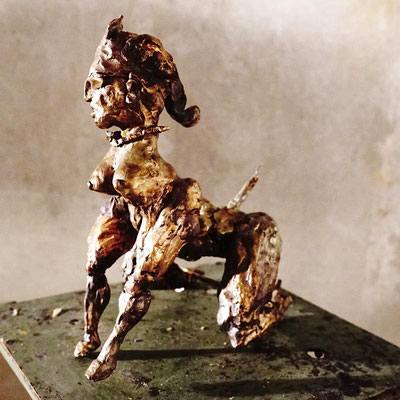 arte figura | Hetär 1 (Bronzefigur) | Bronze, 24 cm hoch