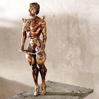arte figura | Schiava (Bronzefigur) | Bronze, 43 cm hoch